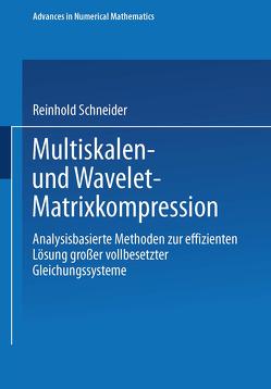 Multiskalen- und Wavelet-Matrixkompression von Schneider,  Reinhold