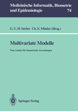 Multivariate Modelle von Minder,  Christoph E, Seeber,  Gilg U.H.