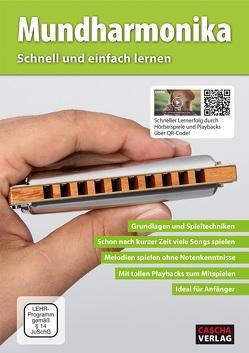 Mundharmonika – Schnell und einfach lernen mit MP3-CD