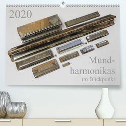 Mundharmonikas im Blickpunkt (Premium, hochwertiger DIN A2 Wandkalender 2020, Kunstdruck in Hochglanz) von Rohwer,  Klaus
