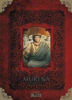 Murena – Skizzenbuch (limitierte Sonderedition) von Delaby,  Philippe, Dufaux,  Jean