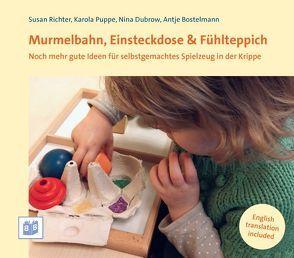 Murmelbahn, Einsteckdose & Fühlteppich von Bostelmann,  Antje, Dubrow,  Nina, Puppe,  Karola, Richter,  Susan