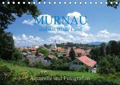Murnau und das Blaue Land – Aquarelle und Fotografien (Tischkalender 2018 DIN A5 quer) von Dürr,  Brigitte