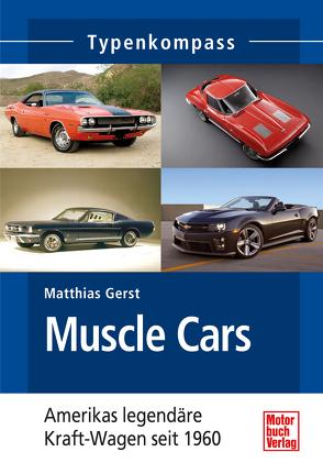 Muscle Cars von Gerst,  Matthias
