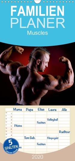 muscles – Familienplaner hoch (Wandkalender 2020 , 21 cm x 45 cm, hoch) von Mende,  Marcel
