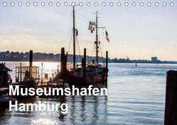 Museumshafen Hamburg – die Perspektive (Tischkalender 2019 DIN A5 quer) von Kaum,  Eberhard