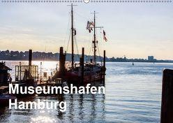 Museumshafen Hamburg – die Perspektive (Wandkalender 2019 DIN A2 quer) von Kaum,  Eberhard