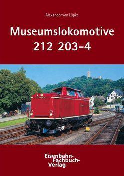 Museumslokomotive 212 203-4 von Lüpke,  Alexander von