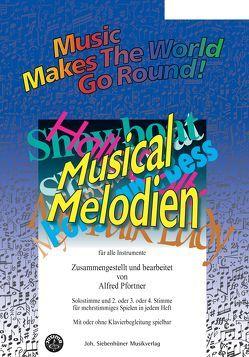 Music Makes the World go Round – Musical Melodien – Klaviersolo- / Klavierbegleitstimme von Pfortner,  Alfred