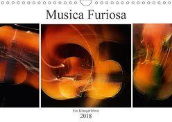 Musica Furiosa (Wandkalender 2018 DIN A4 quer) von Kraetschmer,  Marion