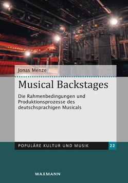 Musical Backstages von Menze,  Jonas