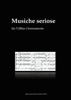 Musiche seriose von Kreuzlinger,  Franz