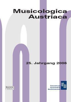 Musicologica Austriaca. Jahresschrift der Österreichischen Gesellschaft… / Die Vorstellung von Musik in Malerei und Dichtung von Boisits,  Barbara, Szabó-Knotik,  Cornelia