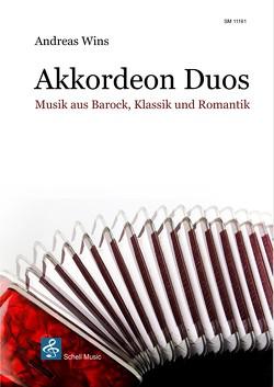 Musik aus Barock, Klassik und Romantik für Akkordeon-Duo von Wins,  Andreas
