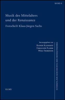 Musik des Mittelalters und der Renaissance von Flamm,  Christoph, Frobenius,  Wolf, Kleinertz,  Rainer