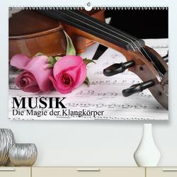 Musik – Die Magie der Klangkörper (Premium, hochwertiger DIN A2 Wandkalender 2021, Kunstdruck in Hochglanz) von Stanzer,  Elisabeth