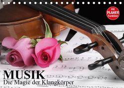 Musik – Die Magie der Klangkörper (Tischkalender 2019 DIN A5 quer) von Stanzer,  Elisabeth