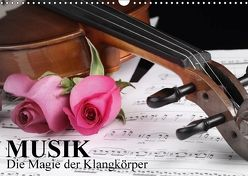 Musik – Die Magie der Klangkörper (Wandkalender 2018 DIN A3 quer) von Stanzer,  Elisabeth