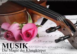 Musik – Die Magie der Klangkörper (Wandkalender 2019 DIN A2 quer) von Stanzer,  Elisabeth