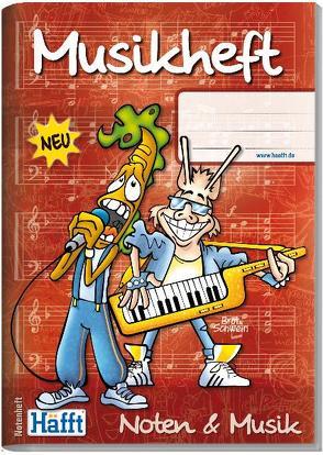 Musik-Häfft (DIN A5 hoch) von Andy & Stefan