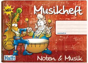 Musik-Häfft (DIN A5 quer) von Andy & Stefan