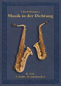 Musik in der Dichtung von Dönnges,  Ulrich