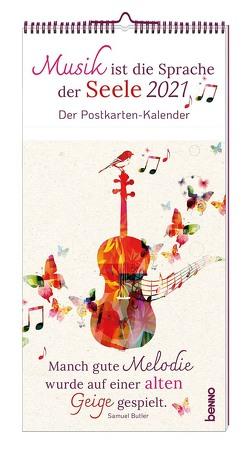 Musik ist die Sprache der Seele 2021 von Bauch,  Volker