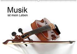Musik ist mein Leben / CH-Version (Wandkalender 2019 DIN A2 quer) von Eppele,  Klaus