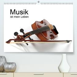 Musik ist mein Leben (Premium, hochwertiger DIN A2 Wandkalender 2021, Kunstdruck in Hochglanz) von Eppele,  Klaus