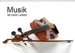 Musik ist mein Leben (Wandkalender 2019 DIN A3 quer) von Eppele,  Klaus