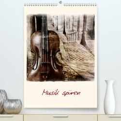 Musik spüren (Premium, hochwertiger DIN A2 Wandkalender 2020, Kunstdruck in Hochglanz) von aplowski,  andrea
