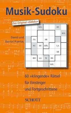 Musik-Sudoku von Puertas,  Bernat, Puertas,  David