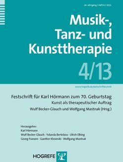 Musik-, Tanz- und Kunsttherapie von Becker-Glauch,  Wulf, Mastnak,  Wolfgang
