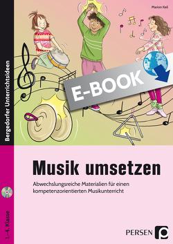 Musik umsetzen von Keil,  Marion