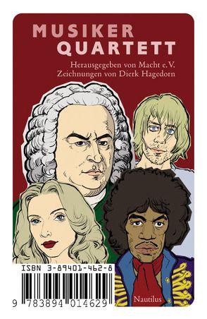 Musiker Quartett von Hagedorn,  Dierk
