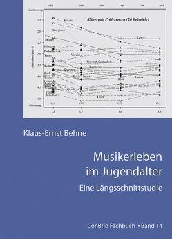 Musikerleben im Jugendalter von Behne,  Klaus E