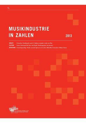 Musikindustrie in Zahlen 2013