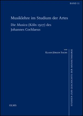 Musiklehre im Studium der Artes von Sachs,  Klaus-Jürgen
