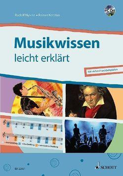Musikwissen – leicht erklärt von Kotzian,  Rainer, Nykrin,  Rudolf