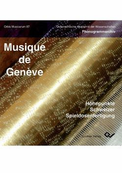 Musique de Genève von Kowar,  Helmut