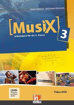 Musix 3 DVD, Ausg. Österreich von Detterbeck,  Markus, Schmidt-Oberländer,  Gero