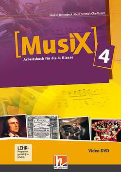Musix 4 DVD, Ausg. Österreich von Detterbeck,  Markus, Schmidt-Oberländer,  Gero