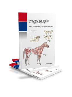 Muskelatlas Pferd von Gühring,  Katja