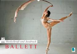 Muskelkraft und Ausdruck – Ballett (Wandkalender 2021 DIN A2 quer) von CALVENDO