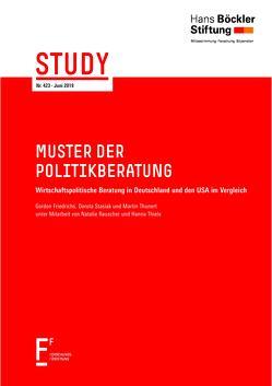 Muster der Politikberatung von Friedrichs,  Gordon, Stasiak,  Dorota, Thunert,  Martin