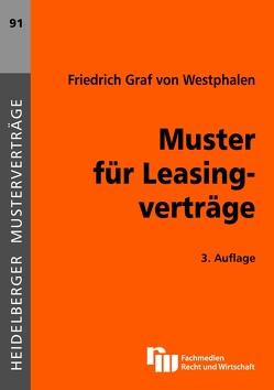 Muster für Leasingverträge von Westphalen,  Friedrich