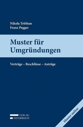 Muster für Umgründungen von Pegger,  Franz, Tröthan,  Nikola