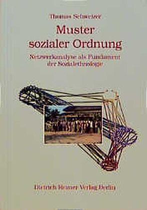 Muster sozialer Ordnung von Schweizer,  Thomas