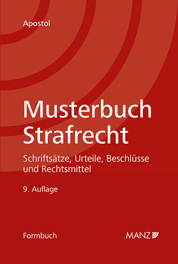 Musterbuch Strafrecht von Apostol,  Stefan
