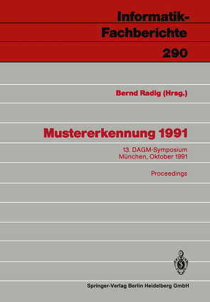 Mustererkennung 1991 von Klotz,  K., Radig,  Bernd